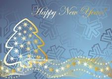 праздничное предпосылки голубое Стоковое Фото