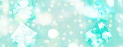 Праздничное предпосылки знамени декоративное Стоковое фото RF