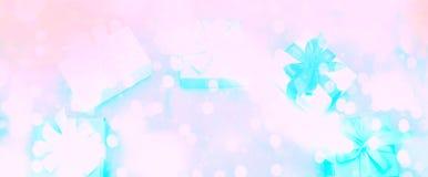 Праздничное предпосылки знамени декоративное Стоковая Фотография RF