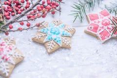 Праздничное рождество, хранитель экрана ` s Нового Года, открытка, предпосылка Стоковое Изображение