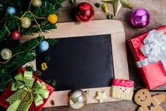 Праздничное украшение, печенье рождества и Новый Год в форме o Стоковое фото RF