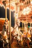 Праздничное украшение центра города Тираны Стоковое Изображение RF