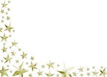 праздничные звезды Стоковое Изображение RF