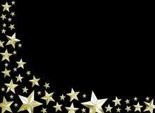 праздничные звезды Стоковые Изображения RF