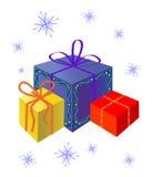 праздничные подарки Стоковая Фотография