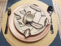 Праздничные сервировки стола сезона Стоковая Фотография RF