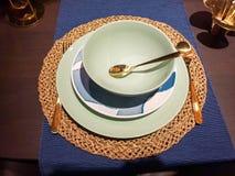 Праздничные сервировки стола сезона Стоковое Изображение