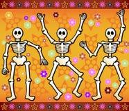 праздничные скелеты Стоковое Изображение