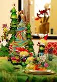 праздничные установки сезона места праздника Стоковое фото RF