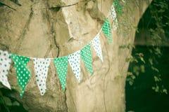праздничные флаги Стоковая Фотография RF