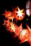 праздничные фонарики стоковое фото rf