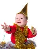 праздничный младенец Стоковая Фотография