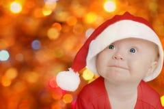 праздничный смешной santa Стоковая Фотография