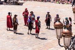 Праздненства San Pedro, Реус Таррагона стоковое изображение