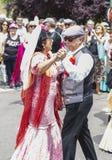 Праздненство ` Сан Isidro `, покровителя Мадрида, 15-ое мая 2017, Мадрида, Испании Стоковое Изображение RF