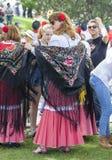 Праздненство ` Сан Isidro `, покровителя Мадрида, 15-ое мая 2017, Мадрида, Испании Стоковые Фото