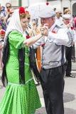Праздненство ` Сан Isidro `, покровителя Мадрида, 15-ое мая 2017, Мадрида, Испании Стоковые Изображения RF
