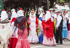 Праздненство ` Сан Isidro `, покровителя Мадрида, 15-ое мая 2017, Мадрида, Испании Стоковые Фотографии RF
