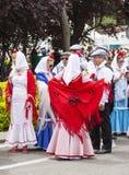 Праздненство ` Сан Isidro `, покровителя Мадрида, 15-ое мая 2017, Мадрида, Испании Стоковая Фотография RF