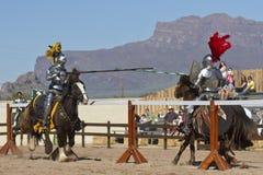 Празднество ренессанса Аризона Jousting Стоковые Изображения RF