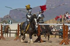 Празднество ренессанса Аризона Jousting Стоковая Фотография RF