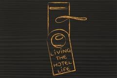 Праздники и туризм: Живой жизнь гостиницы Стоковые Фотографии RF