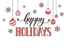 праздники карточки счастливые Стоковые Фото