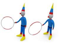 праздники клоуна Стоковое фото RF