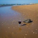 Праздники на море и спирт Стоковая Фотография