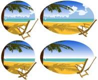 праздники пляжа Стоковые Изображения