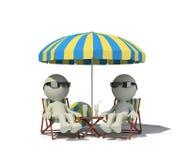 праздники праздника встречая романский вектор каникулы моря Стоковое Фото