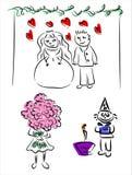 праздники иллюстрация вектора