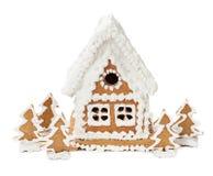 праздники gingerbread рождества застекляя расквартировывают подготовки кладя женщину валов Стоковое Изображение