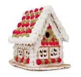 праздники gingerbread рождества застекляя расквартировывают подготовки кладя женщину валов Стоковые Фото