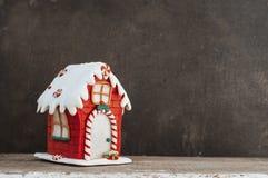 праздники gingerbread рождества застекляя расквартировывают подготовки кладя женщину валов Стоковая Фотография