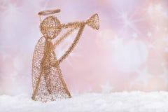 Праздник Анджел золота Стоковая Фотография RF