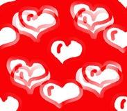 Праздник влюбленности и сердца Стоковые Изображения
