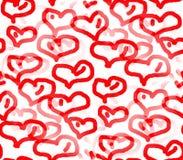 Праздник влюбленности и сердца Стоковая Фотография