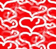 Праздник влюбленности и сердца Стоковое Изображение