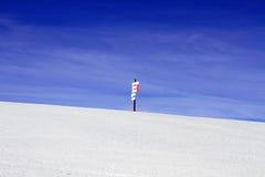 Праздник зимы в альп Стоковые Изображения