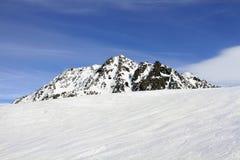Праздник зимы в альп Стоковые Изображения RF