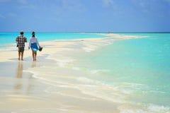 праздник Мальдивы ощупывания Стоковые Фото