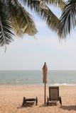 Праздник на пляже в лете, Hua Hin, Таиланде Стоковое Изображение RF