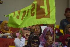 Праздник Первого Мая в городе Semarang Стоковые Фотографии RF