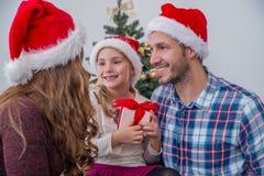 праздник подарков Рожденственской ночи много орнаментов Стоковое Изображение RF