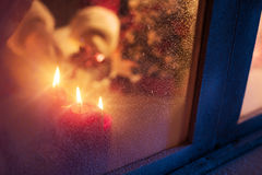 праздник подарков Рожденственской ночи много орнаментов Стоковая Фотография RF