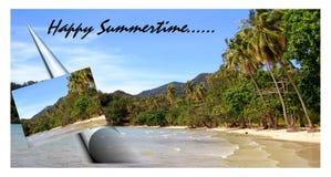 Праздник пляжа временени Стоковые Изображения RF