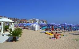 Праздник пляжа лета, Sozopol Стоковое Изображение RF