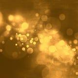 Праздник рождества абстрактной предпосылки золота роскошный Стоковая Фотография RF