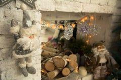 праздник рождества карточки предпосылки Стоковое Изображение